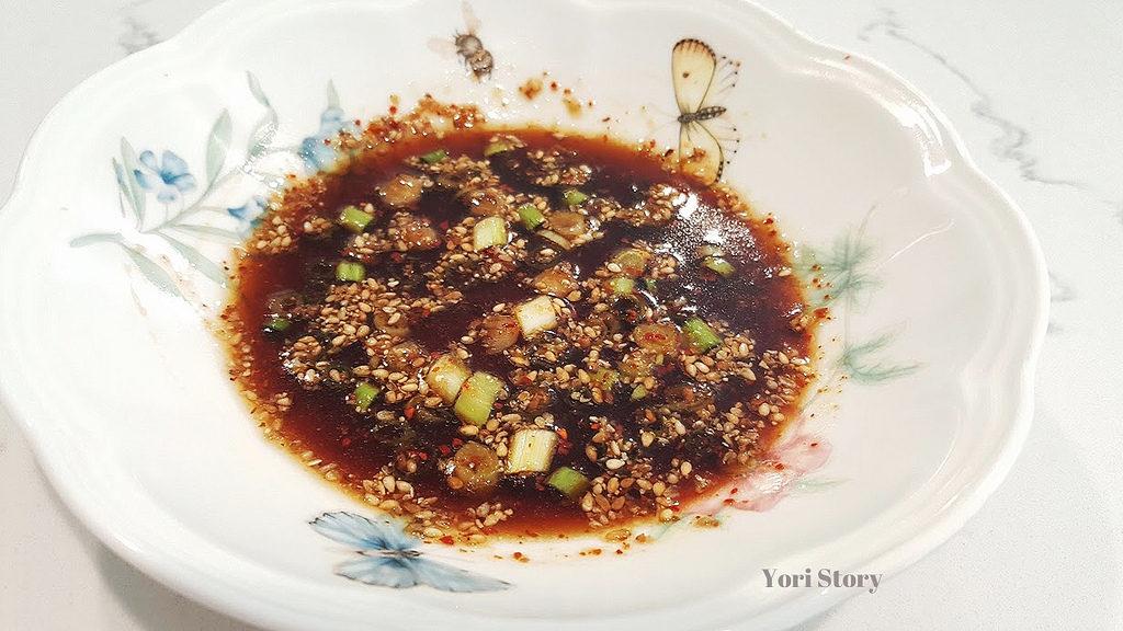yoristory soy sauce dip