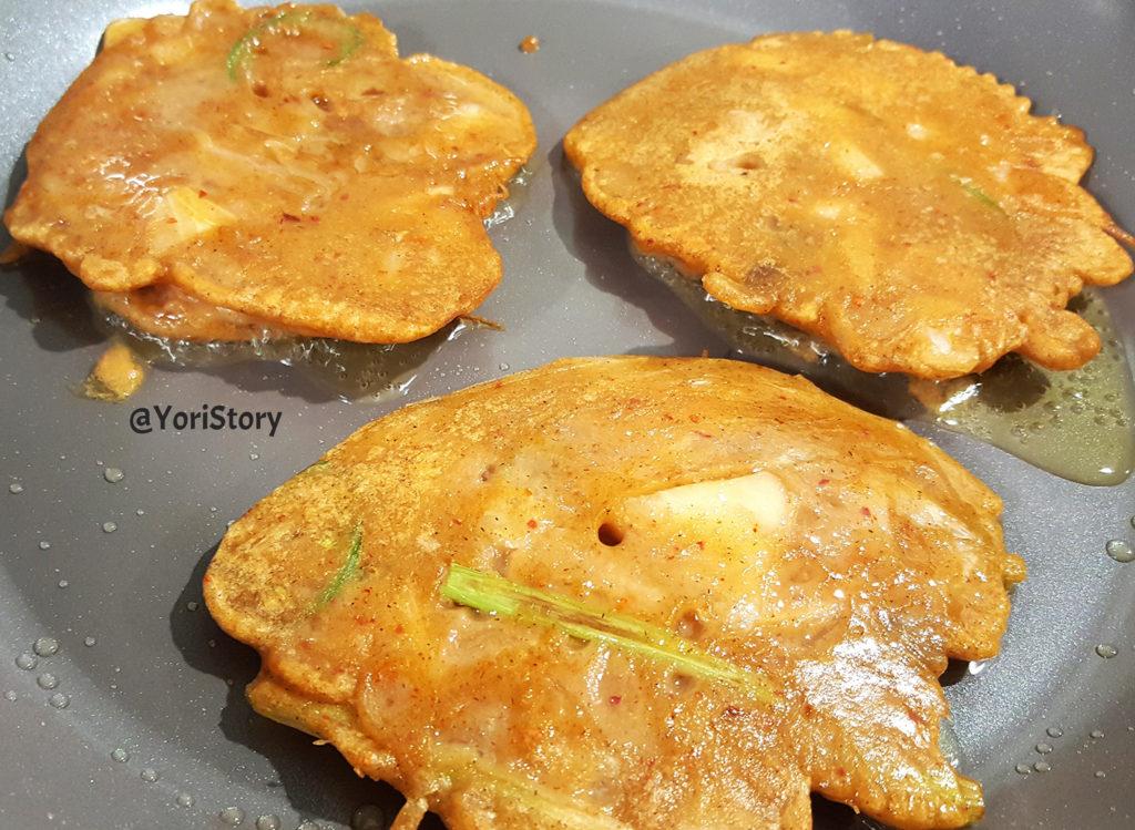 Kimchi Buckwheat Pancake YoriStory