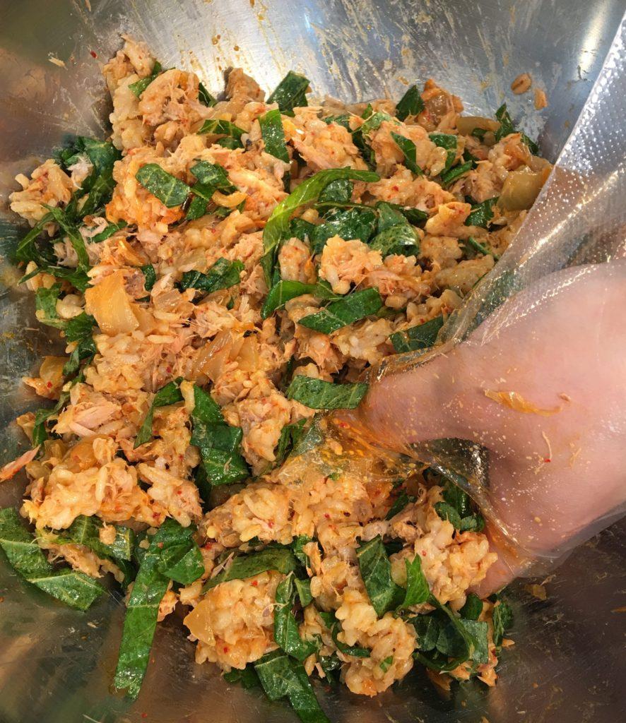 yori story tuna kimchi kimbap